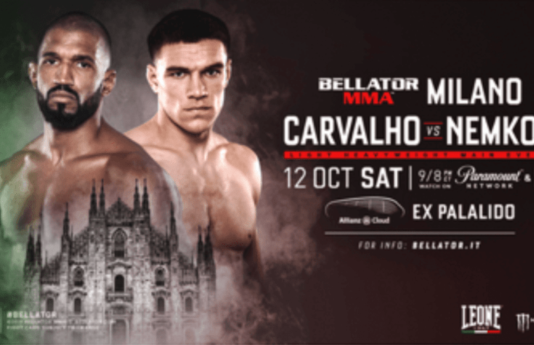 Updated Card For This Weekend's Bellator Milan/230 Event