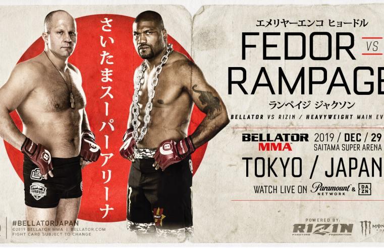 """Fedor Emelianenko vs """"Rampage"""" Jackson To Headline Bellator Japan"""