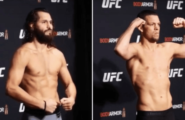 UFC 244: Masvidal vs Diaz Weigh-In Results