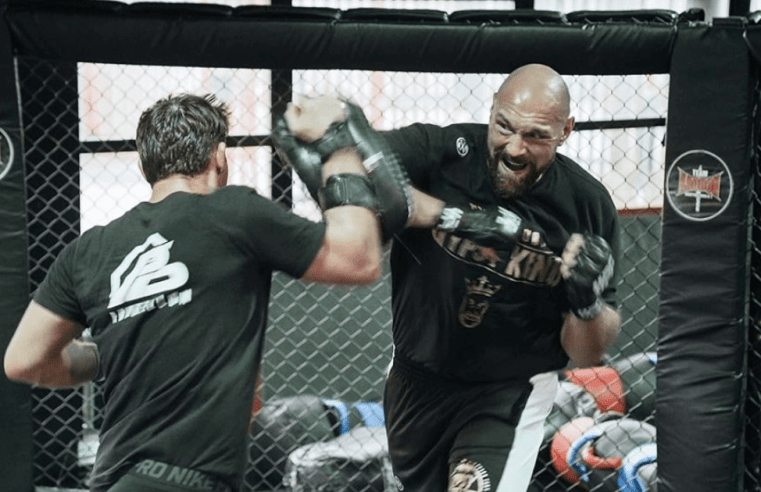Tyson Fury Trains MMA, Is Called Out By Ngannou, Miocic And Hardy
