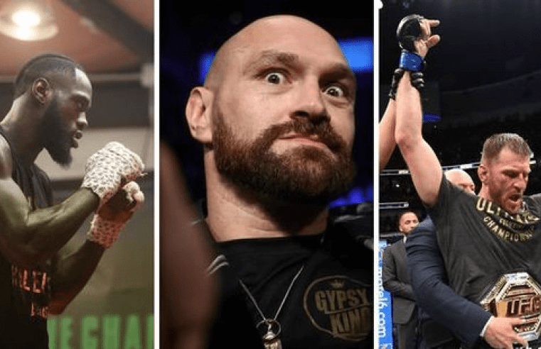 Tyson Fury Is Eyeing Up Deontay Wilder And Then Stipe Miocic