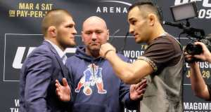 UFC Khabib Nurmagomedov Tony Ferguson