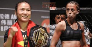 UFC Zhang Weili Joanna Jedzrejczyk