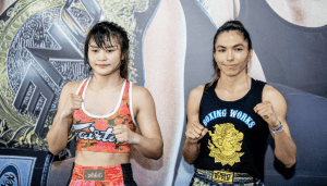 Stamp Fairtex and Janet Todd
