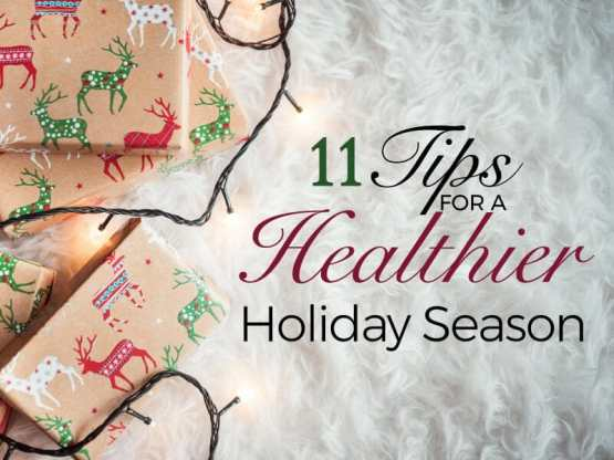 Tips from APMT for a healthy holiday season!