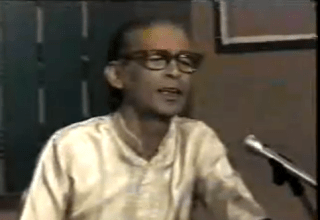 K .Mahavir :Mere saaqiya mujhe bhool jaa