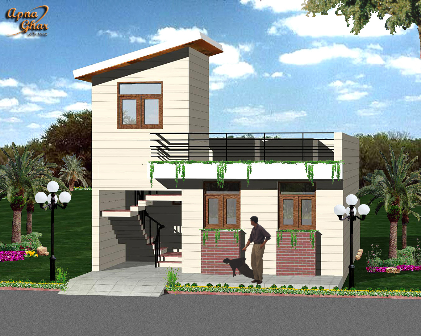 Front Elevation Designs In India Free Home Design