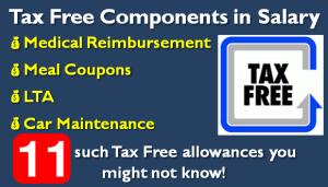 Tax Free Allowances in Salary