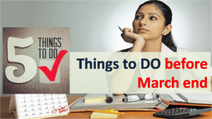 Things to do Before Financial Year Ends