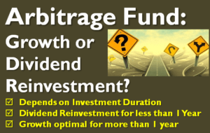 Arbitrage Fund - Growth or Dividend Reinvestment