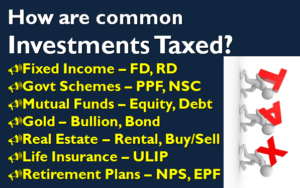 Tax on Investments