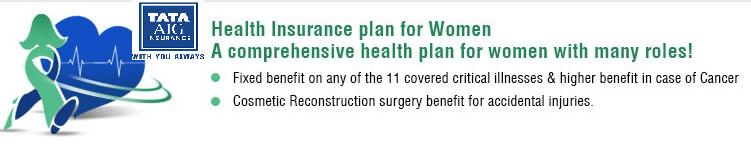 Tata AIG Wellsurance Woman Policy