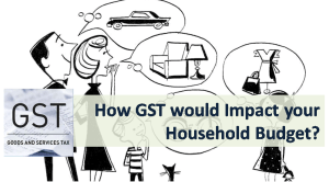 How GST would Impact your Household Budget?