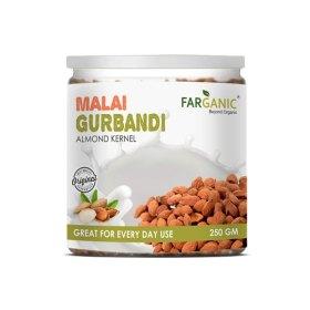 FARGANIC Malai Gurbandi Almonds Premium, Original,