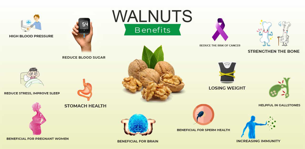 Benefits of Eating Walnuts and Side Effects India 2021