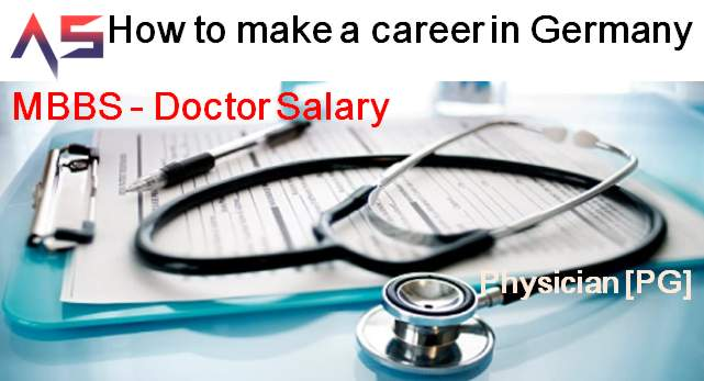 How to make a career in Germany MBBS - How to do PG Doctor salary