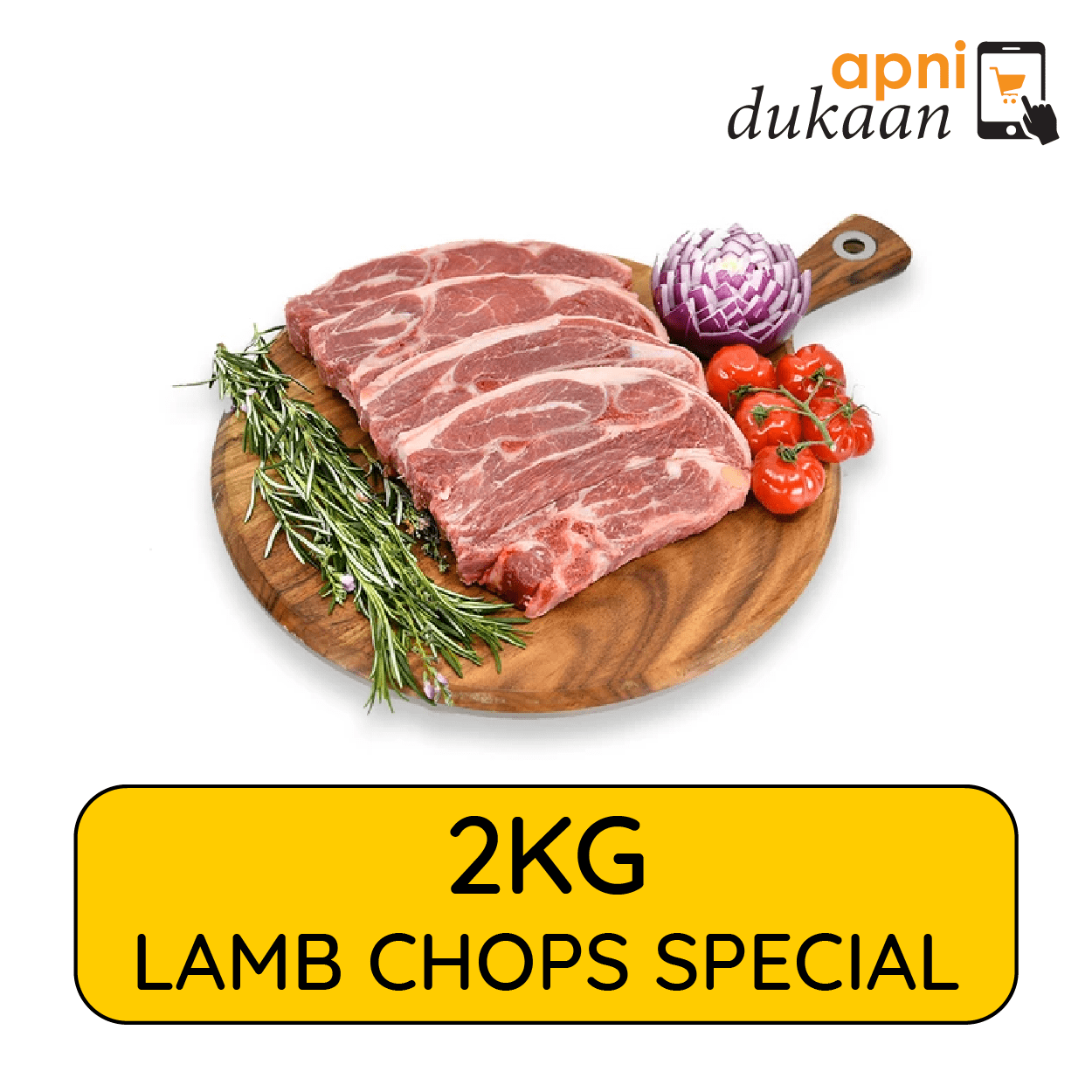 Lamb Chops 2kg – Special
