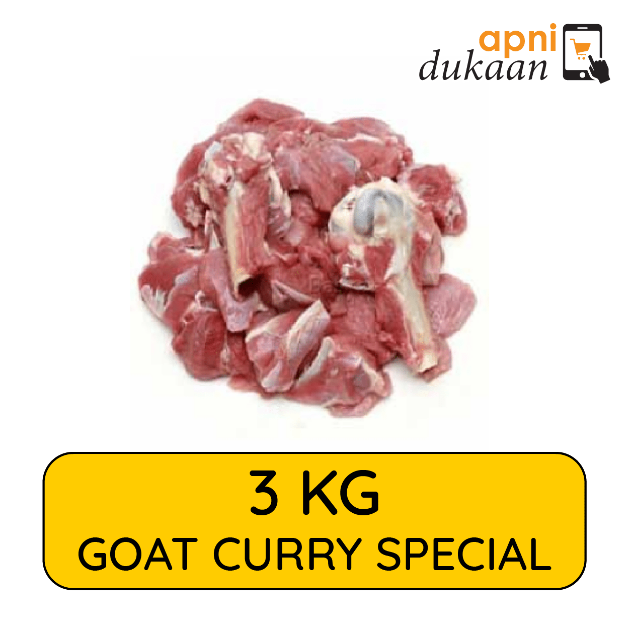 Goat Curry Pieces 3kg – Special