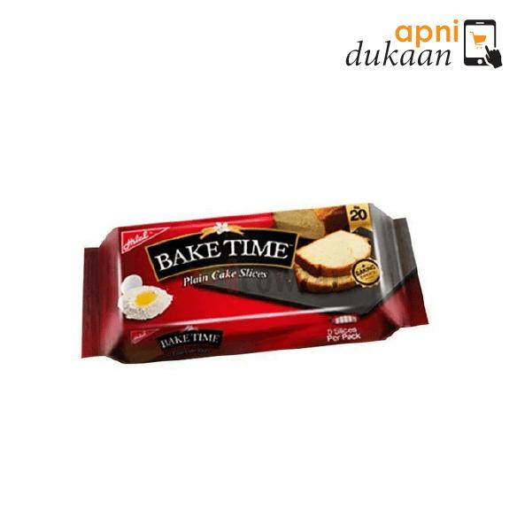 Bake Time Plain Cake Slices 150gm