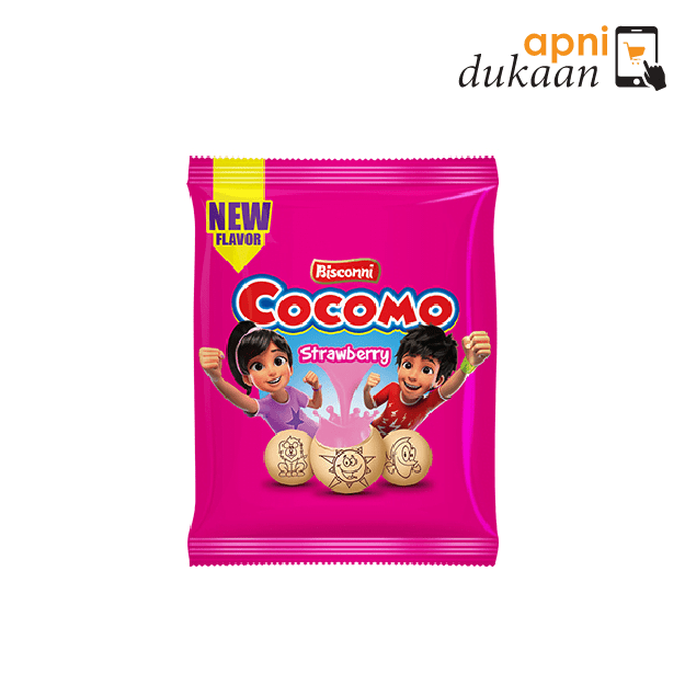 Bisconni Cocomo Biscuits – Strawbry (94g)
