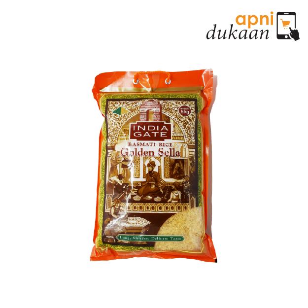 India Gate Basmati Rice – Golden Sella 5kg
