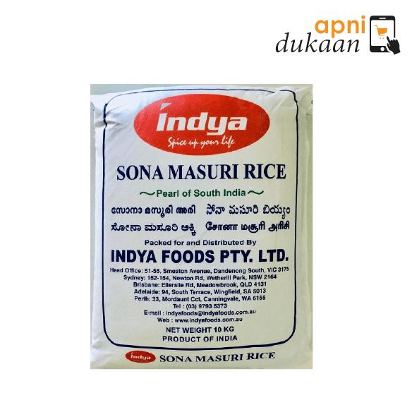Indya Sona Masoori Rice 10 kg