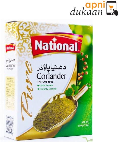 National Coriander Powder 400G