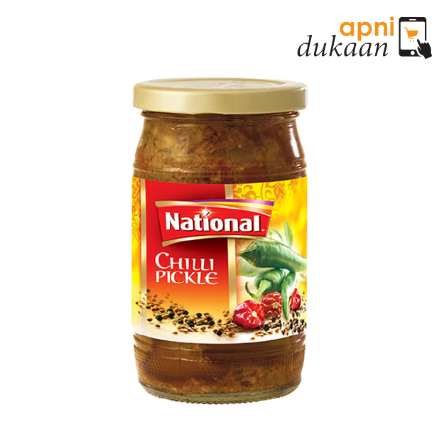 National Green Chilli Pickle 310g