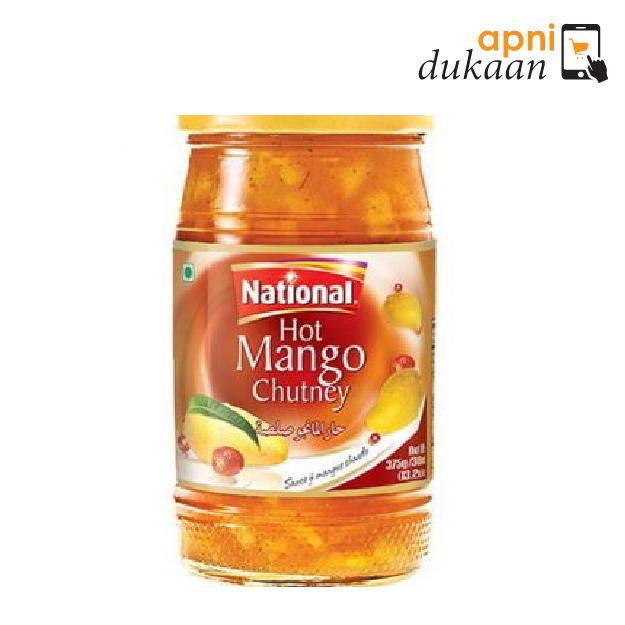 National Hot Mango Chutney 375g