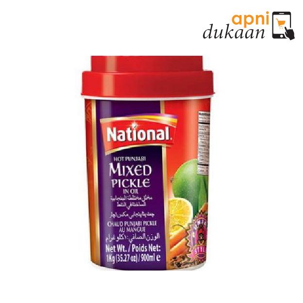 National Hot Punjabi Mix Pickle 1Kg