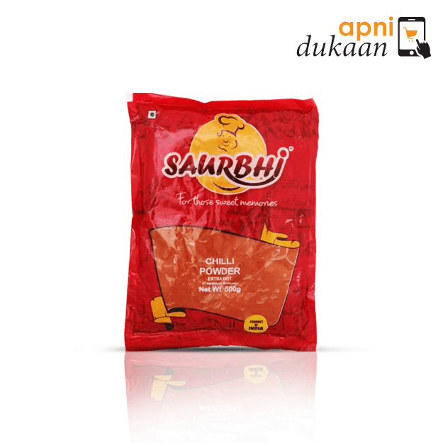 Saurbhi Chilli Whole Extra Hot 200G