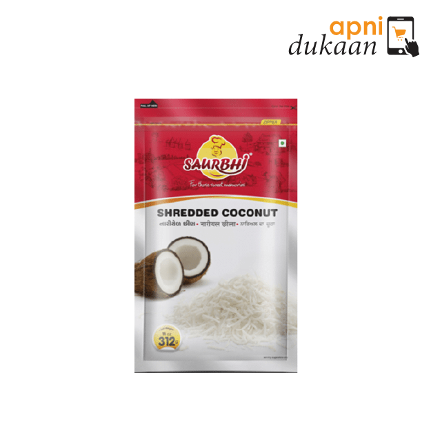 Saurbhi Frozen Shredded Coconut 312G