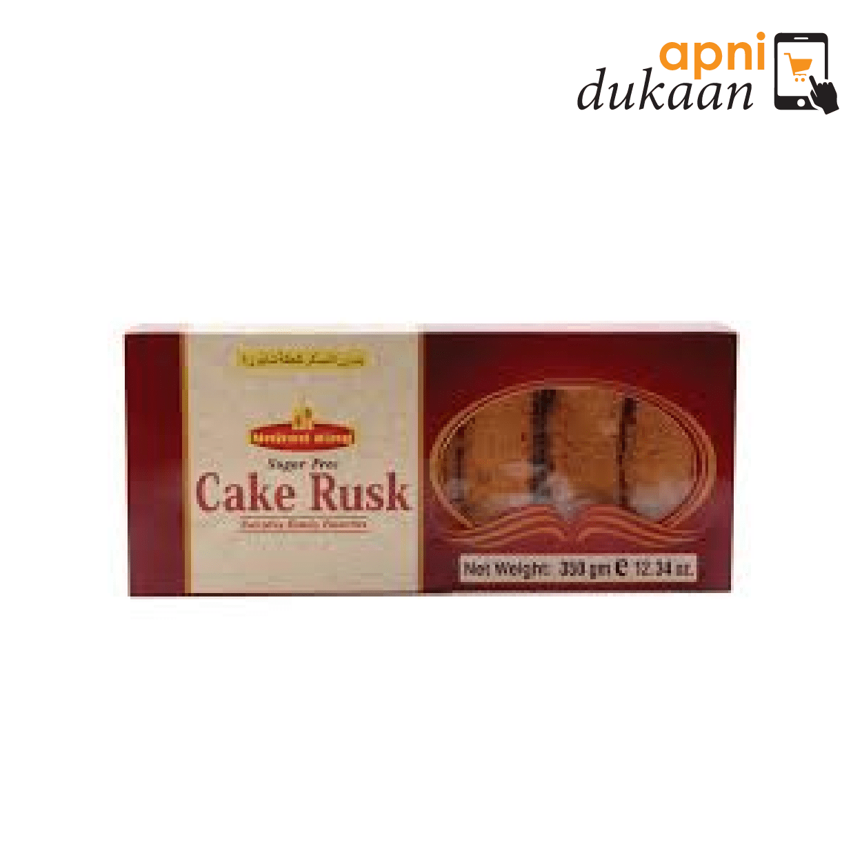 United King Sugar free Cake Rusk 350 gm