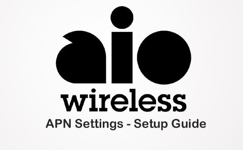 AIO Wireless APN Settings