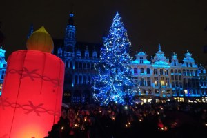 10 décembre 2018 grand Place de Bruxelles