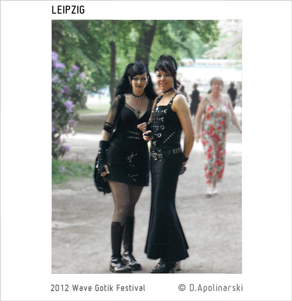 2 lovely ladies, Wave Gotik Treffen Leipzig, 2012