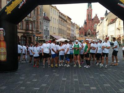 Lutherlauf, Start in Altenburg, I. Senftleben