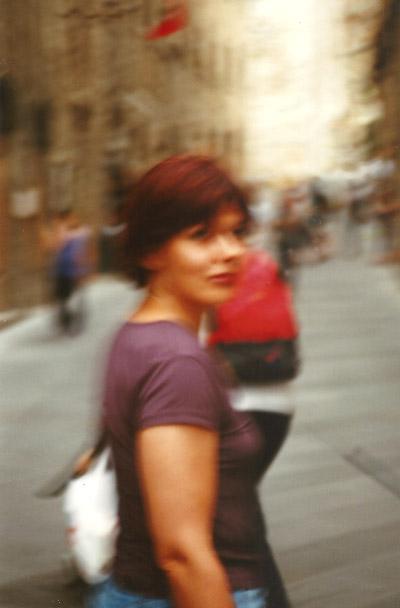 Portraitaufnahme in Italien