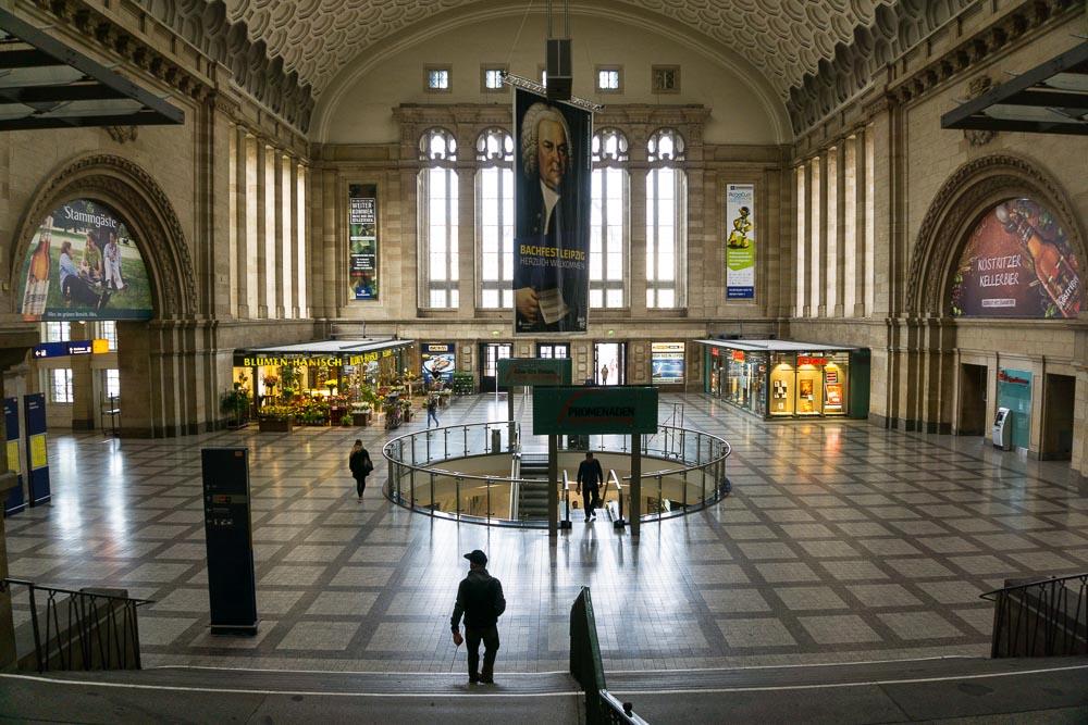 Hauptbahnhof Leipzig, Westhalle