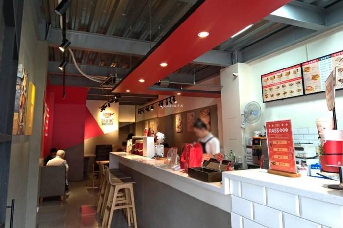 Isaac愛時刻韓國奶油吐司專賣。韓國知名人氣連鎖早午餐,復興路上近台中家商,台中火車站美食