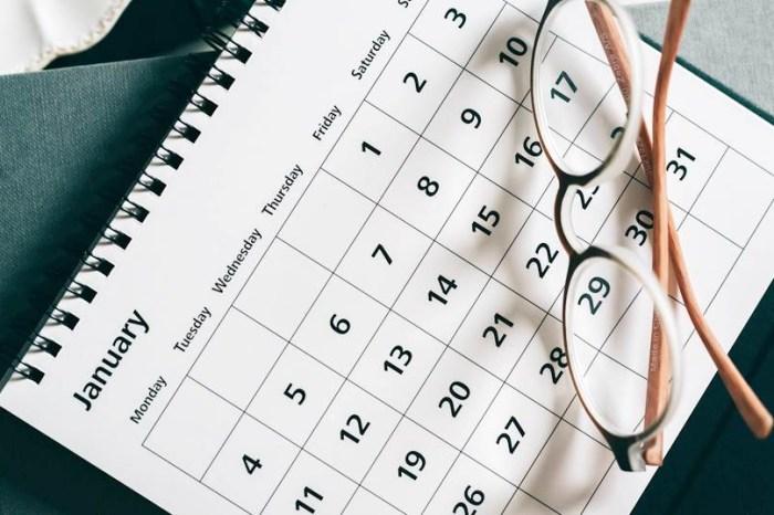 最新!2022年(111年)行事曆,農曆春節九天連假,國中小學110學年度寒假暑假開學日