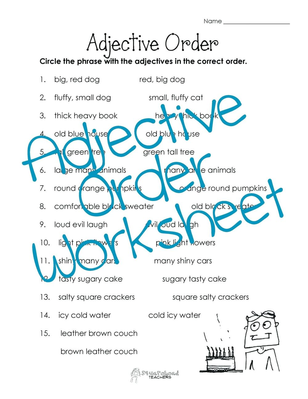 medium resolution of 3 Free Grammar Worksheets Adverbs - apocalomegaproductions.com