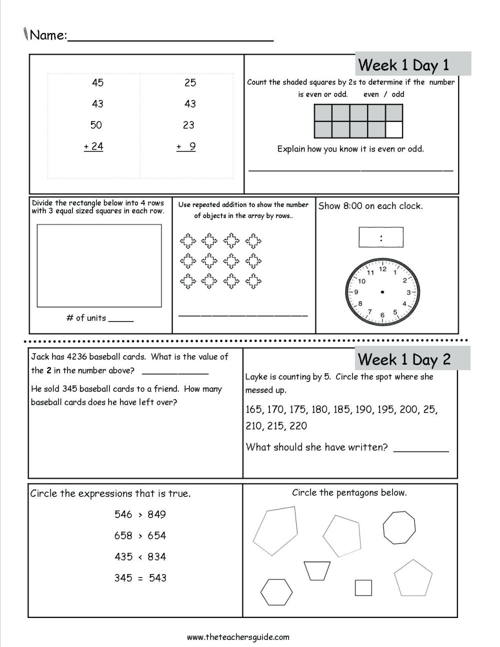 medium resolution of 3 Free Math Worksheets First Grade 1 Addition Add 3 Single Digit Number -  AMP