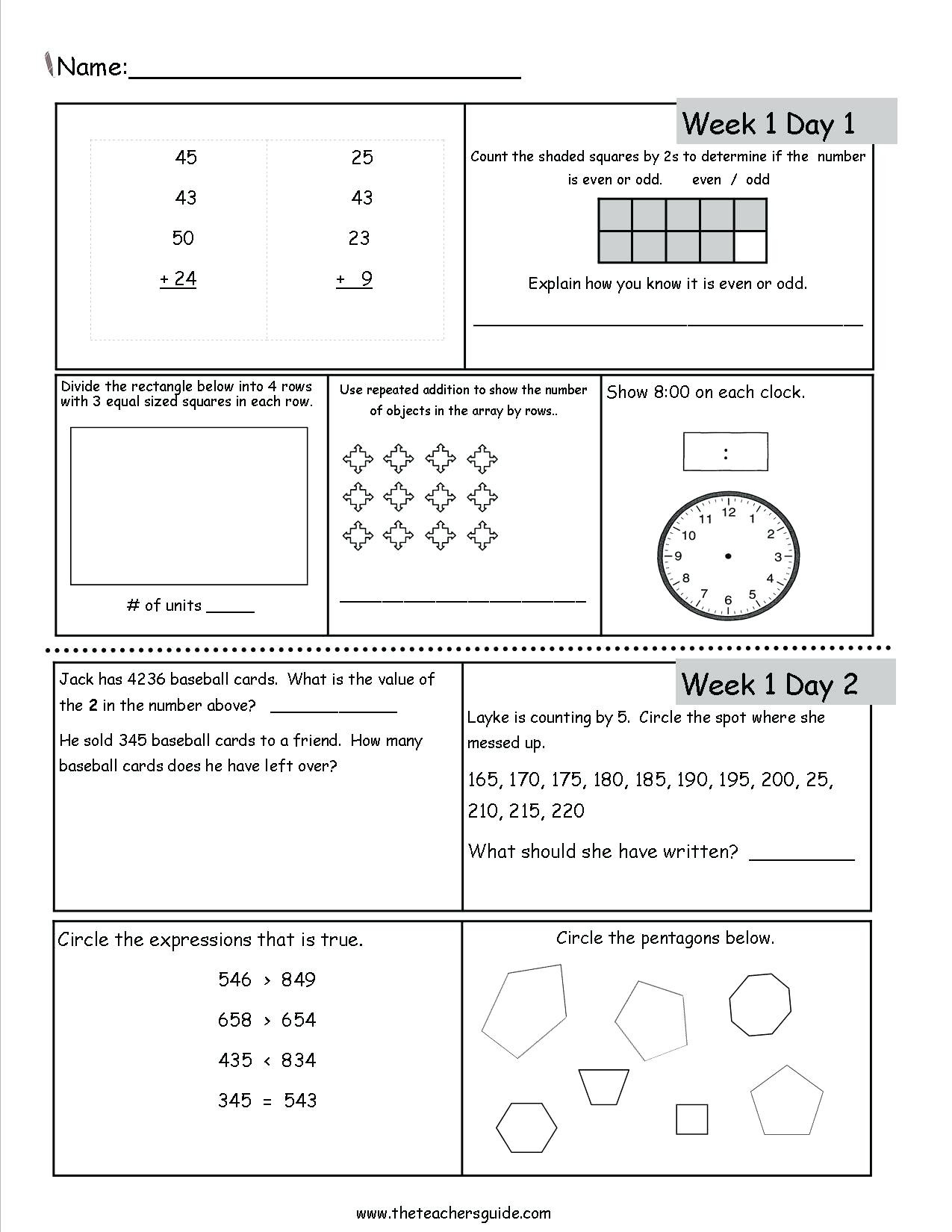 hight resolution of 3 Free Math Worksheets First Grade 1 Addition Add 3 Single Digit Number -  AMP