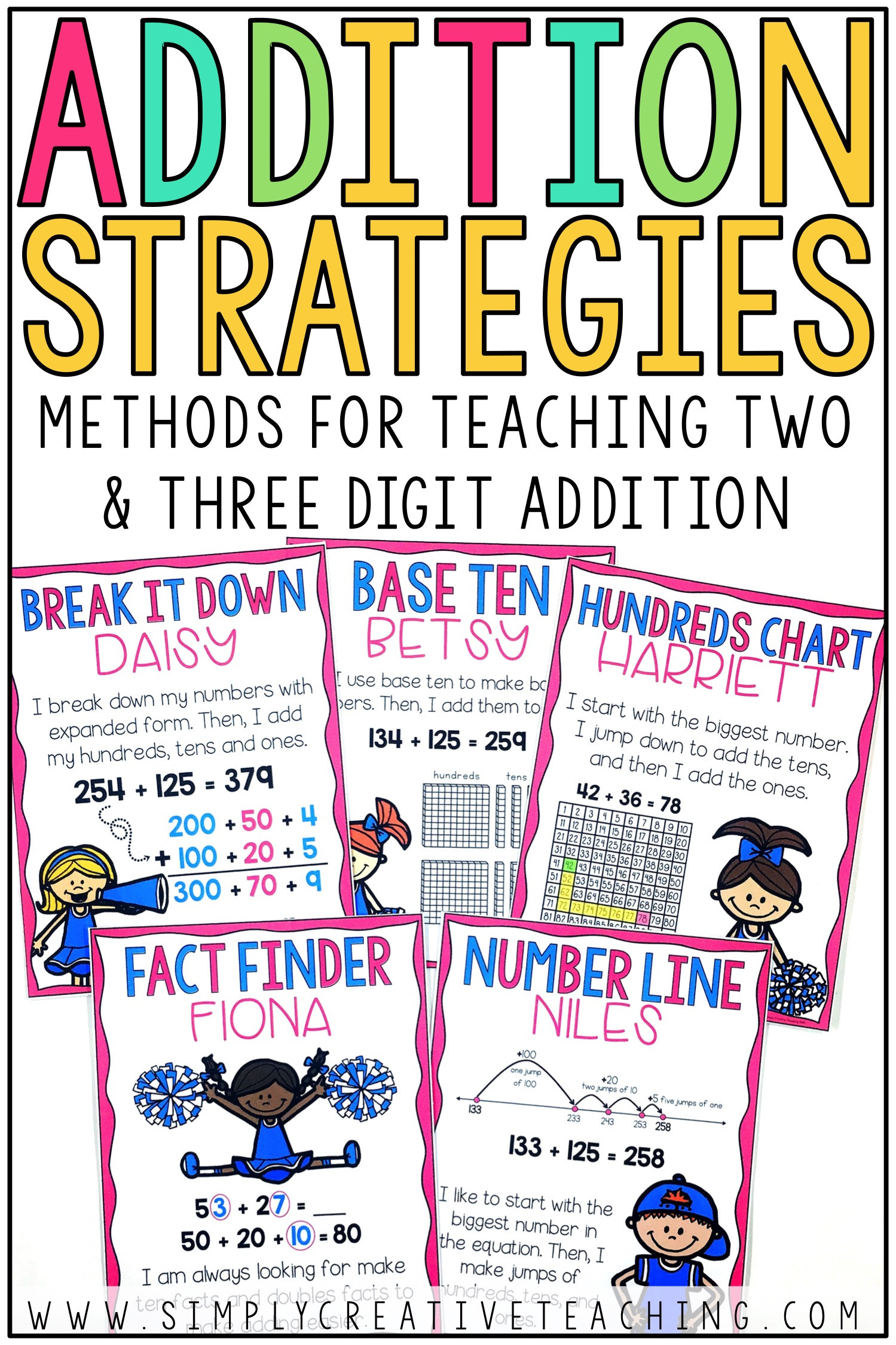 3 Free Math Worksheets First Grade 1 Addition Adding Whole