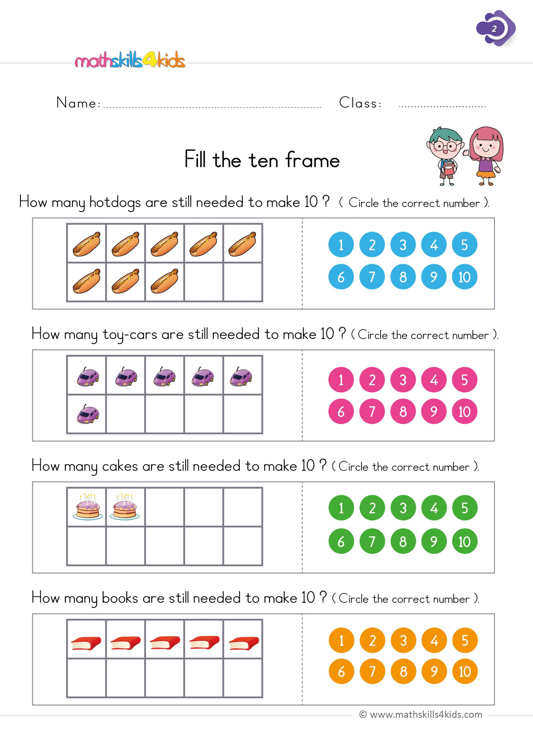 hight resolution of 4 Free Math Worksheets First Grade 1 Addition Number Bonds Sum 8 -  apocalomegaproductions.com