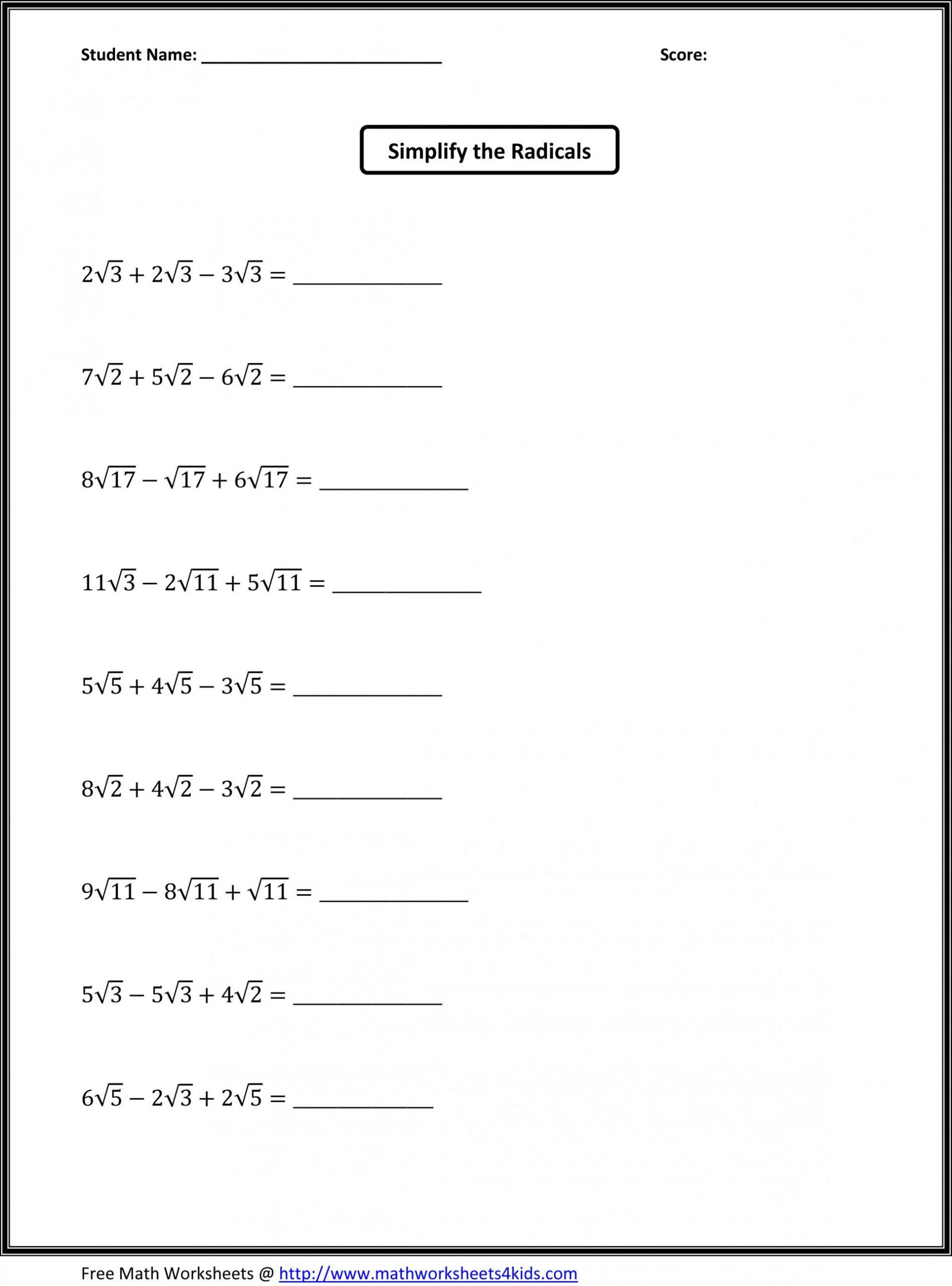 hight resolution of Carolina: Free Printable Seventh Grade 7th Grade Math Worksheets