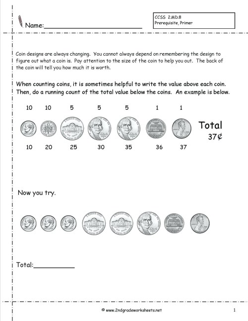 small resolution of Worksheet Counting Pennies And Nickles   Printable Worksheets and  Activities for Teachers