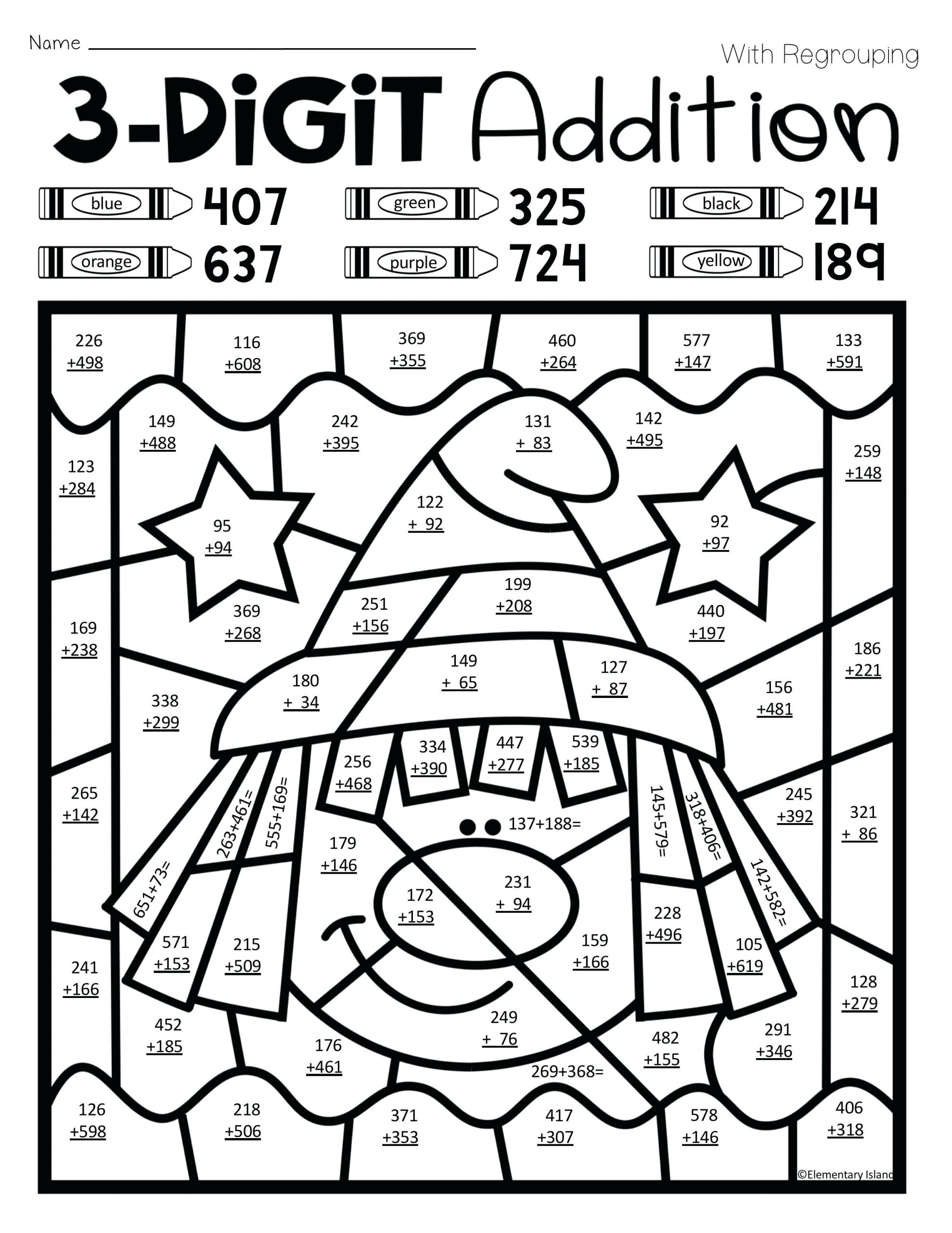 hight resolution of 5 Free Math Worksheets First Grade 1 Subtraction Add and Subtract 3 Single  Digit Numbers - apocalomegaproductions.com