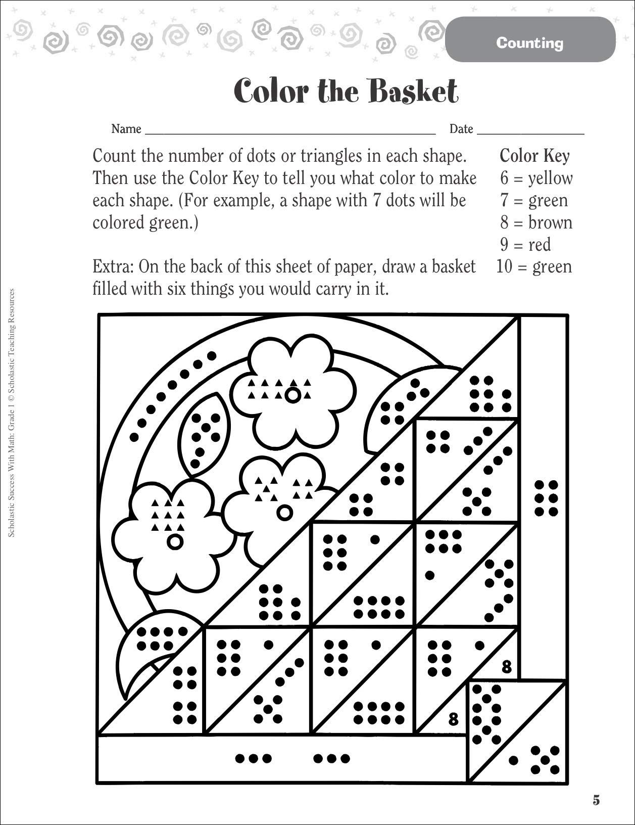hight resolution of 5 Free Math Worksheets First Grade 1 Subtraction Subtracting 1 Digit From 2  Digit No Regrouping - apocalomegaproductions.com